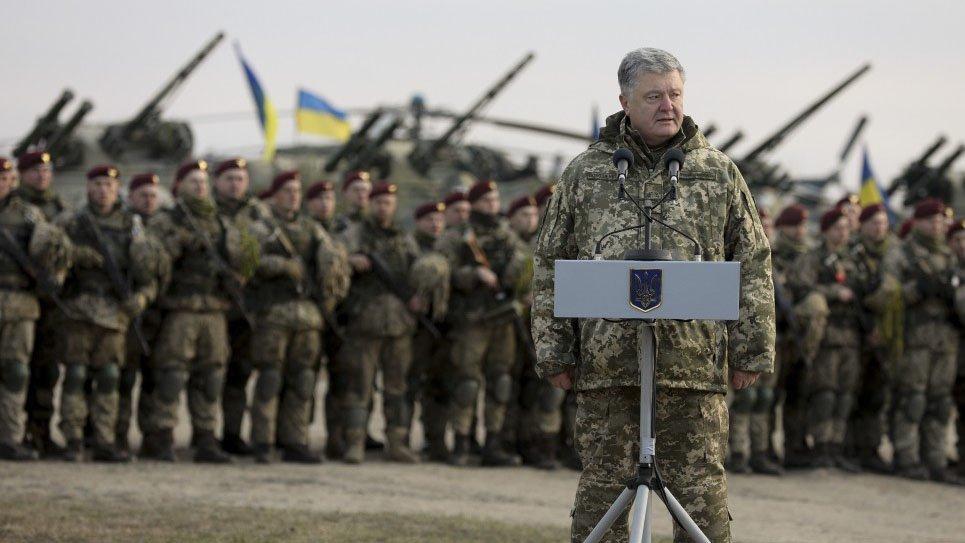 Петр Порошенко объявил о передислокации войск для «защиты от России»
