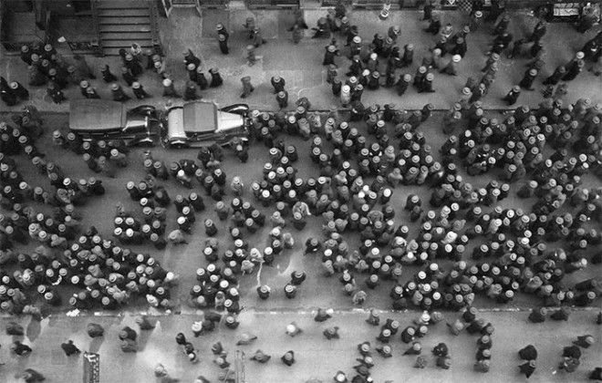 17 Шляпы в НьюЙорке 1930 г война история память