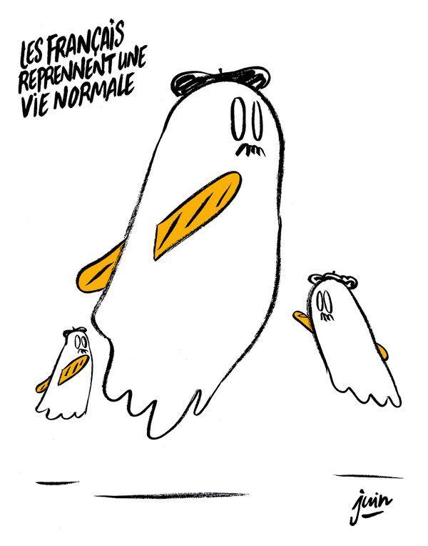 Charlie Hebdo нарисовали карикатуру на теракты в Париже