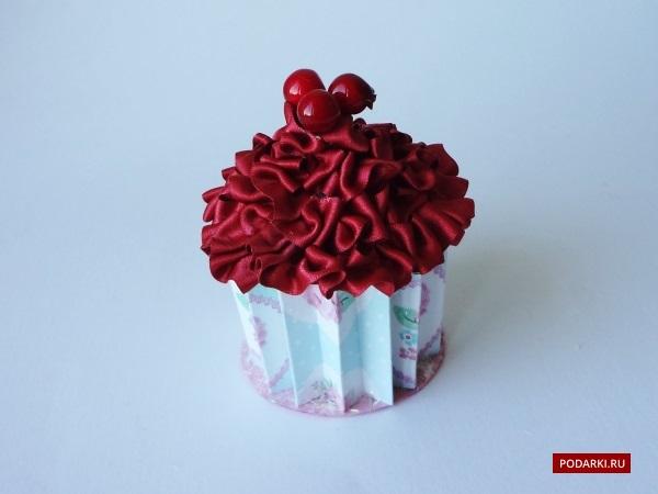 Кексик-шкатулка дляконфет