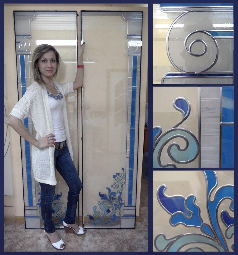 Стеклянные дверцы шкафа своими руками