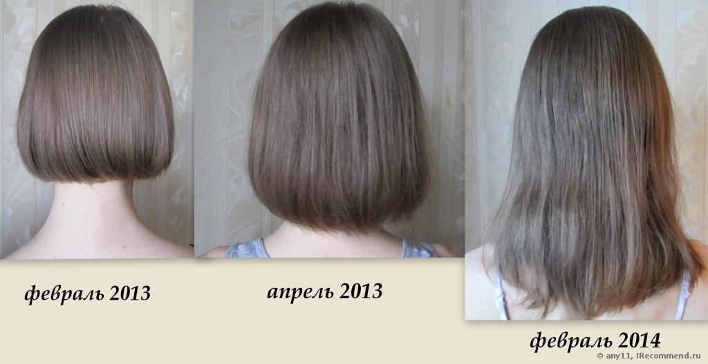 За сколько волосы вырастут за год