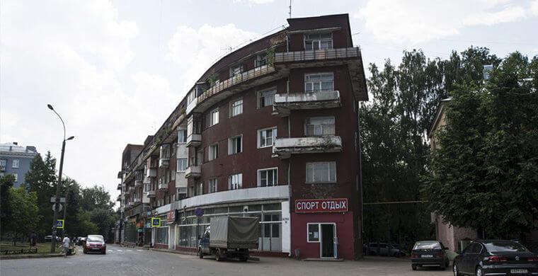 дома России