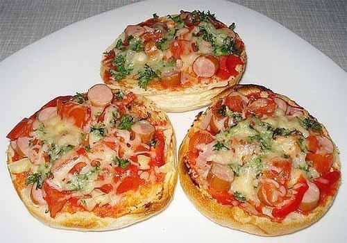 Булочки-пиццы
