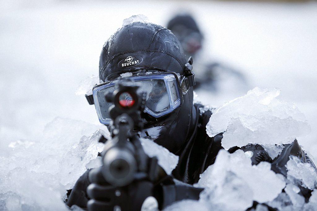 Зимние учения южнокорейского спецназа-14