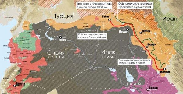 «Траншея Барзани»: Против кого курды роют свою независимость в Ираке?
