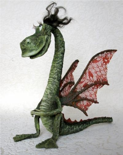Рождение дракончика. Мастер-класс