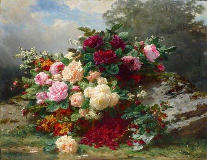 розы в живописи - 01