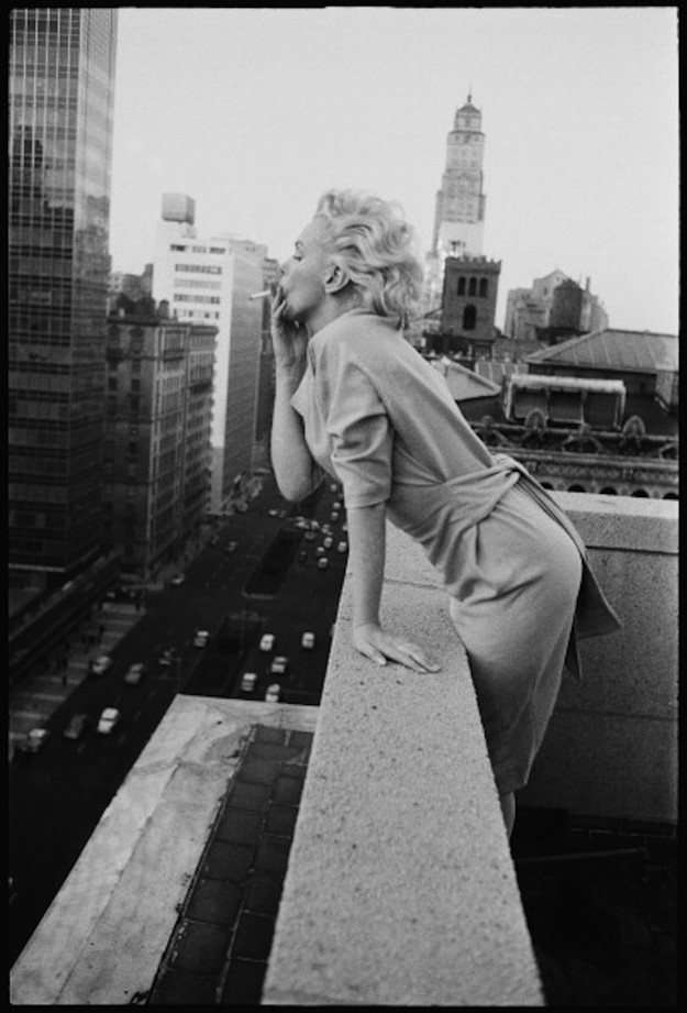 marilyn06 Редкие фото Мэрилин Монро в Нью Йорке