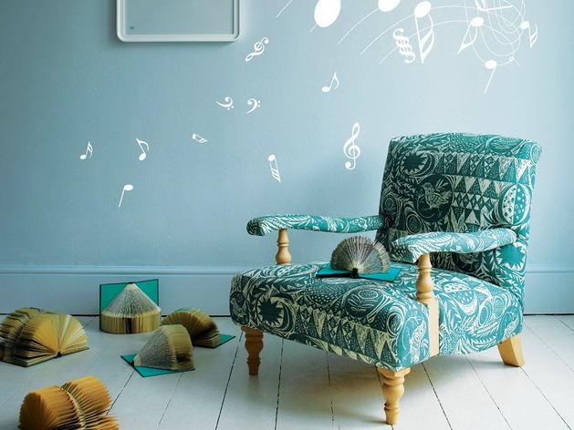 Мебель и предметы интерьера в цветах: бирюзовый, светло-серый, белый, сине-зеленый. Мебель и предметы интерьера в .