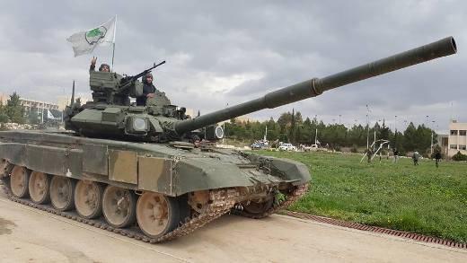 Т-90А на вооружение иракских добровольцев в Сирии
