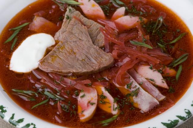 Вкусные блюда русской кухни