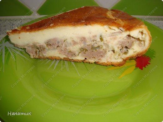 Заливной пирог с капустой и фаршем на кефире рецепт с фото в духовке