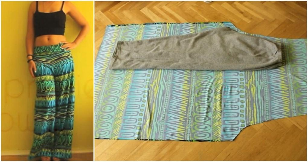Юбка-брюки без навыков кроя: стильное обновление гардероба быстро и без затрат
