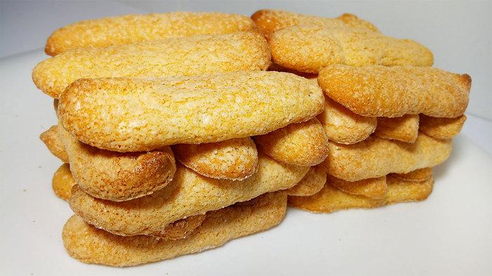 Печенье Савоярди. Дамские пальчики. Печенье, Савоярди, Выпечка, Рецепт, Еда, Кулинария, Быстро, Бисквитное печенье, Видео, Длиннопост