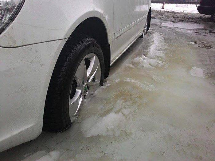 Авто-жертвы Украинской погоды