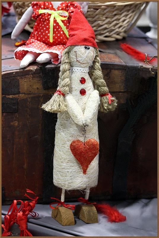 Кукла Дуська - большое сердце