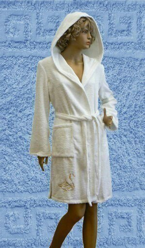 Выкройка банного халата