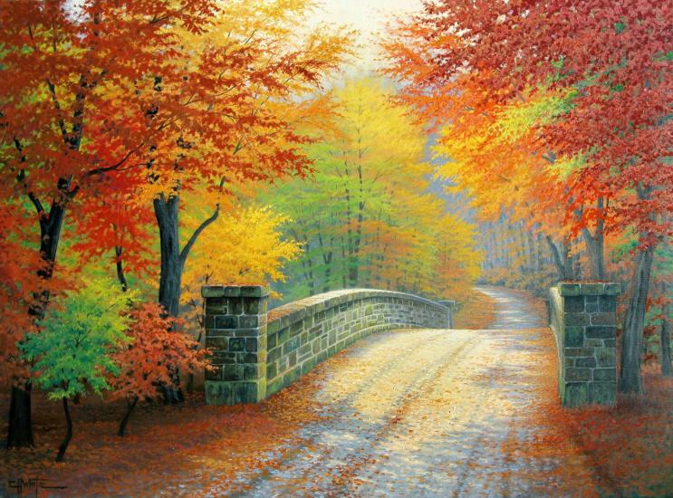 Осень - нежности тихой улыбка