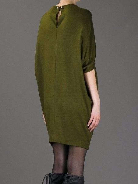 Платье-кокон от Gucci.Выкройка