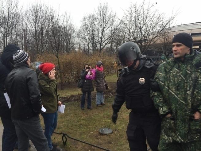 Митинги организованные Ходорковским прошли сегодня провально