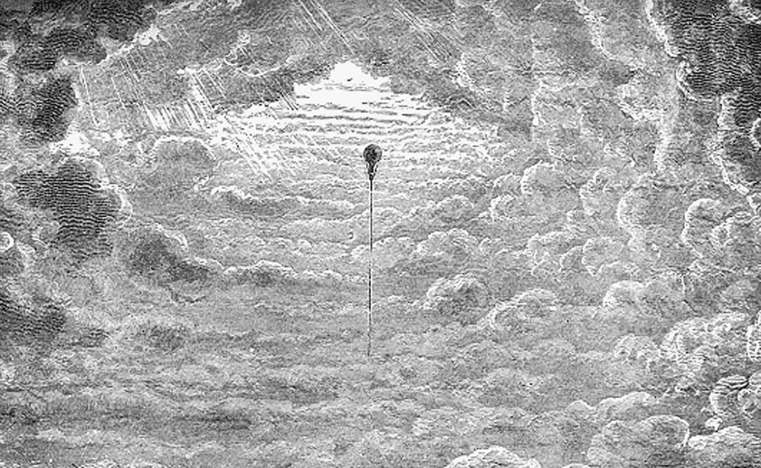 Путешествие в космос на воздушном шаре
