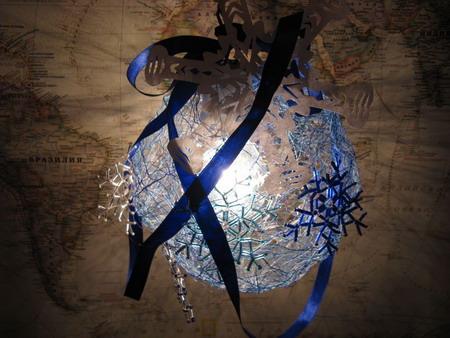 Мастер-класс по изготовлению светильника для Нового Года