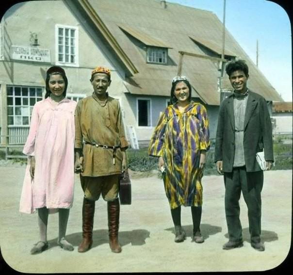 Редчайшие снимки России 1931 года в цвете  история, ссср, факты