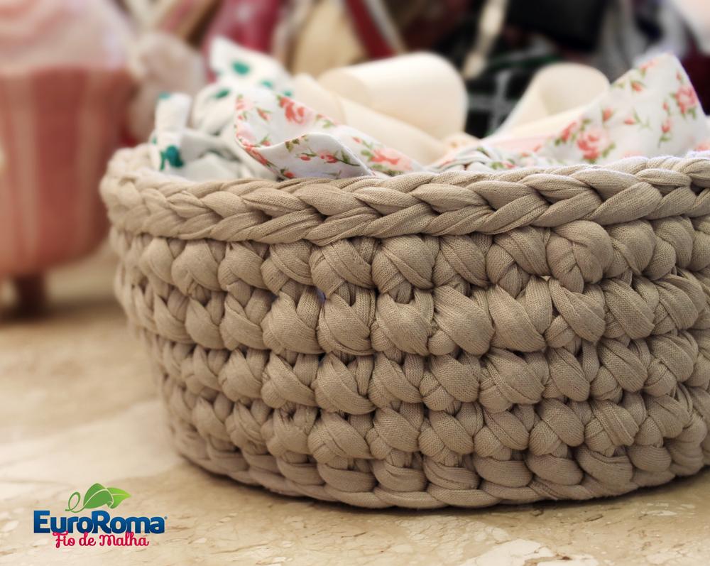 вязание ковриков из пряжи схема