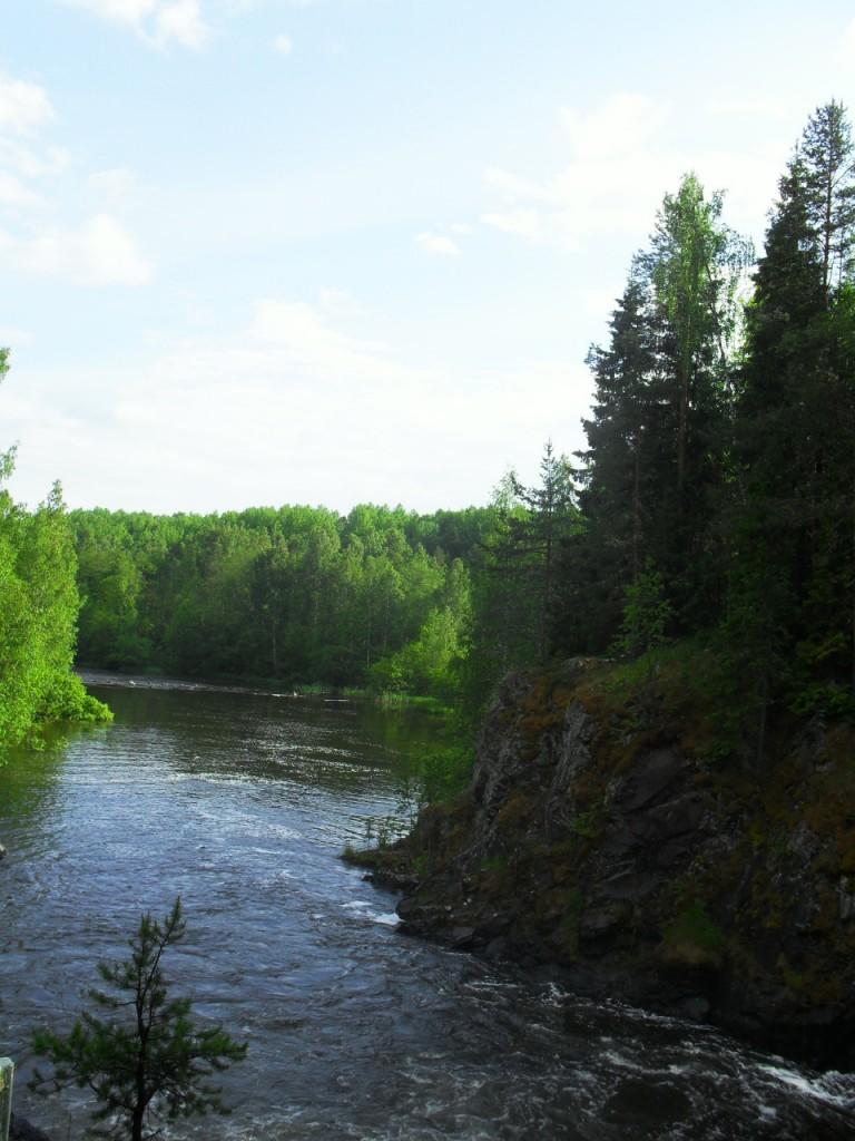 Вид на реку Шуя