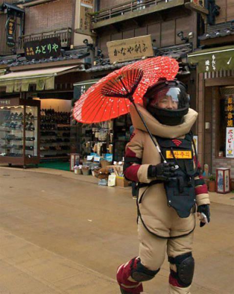 Не только у нас Чудаками с большой буквы полна земля. Подборка смешных фото из Японии (38 фото)