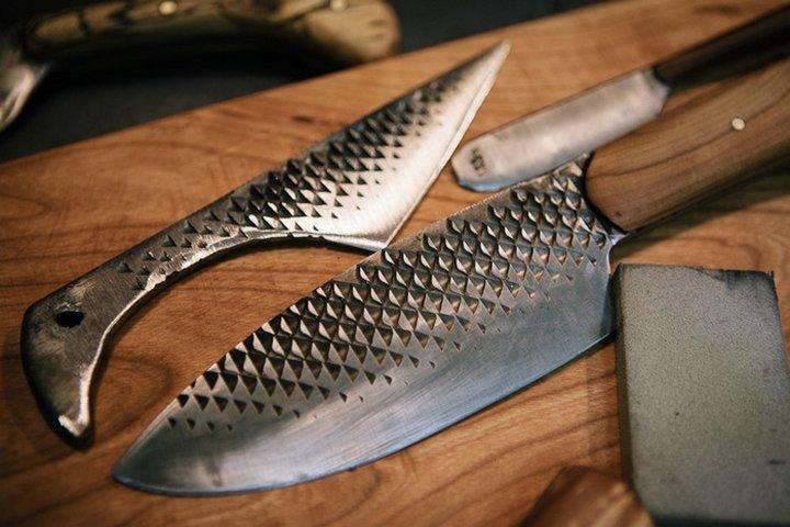 Как сделать нож своими руками из напильника видео
