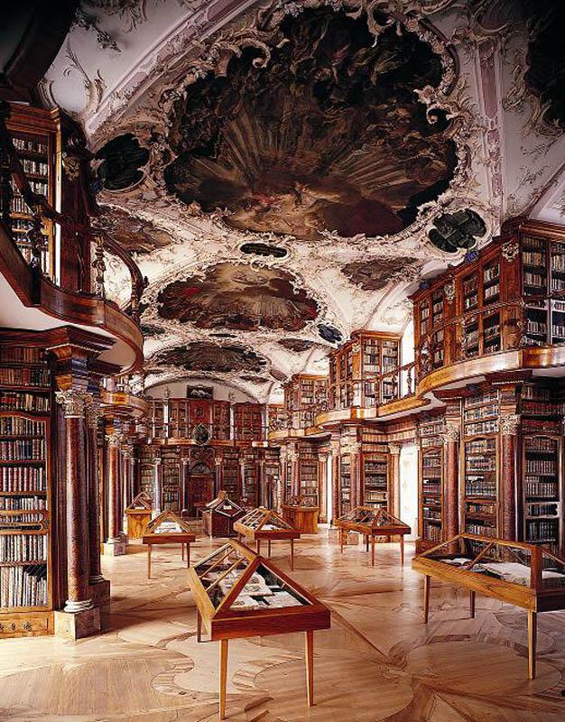 931 15 самых красивых библиотек мира