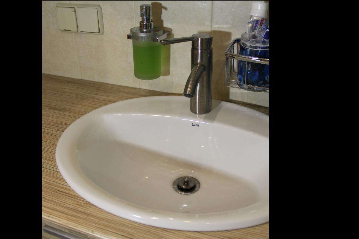 Столешница в ванной своими руками
