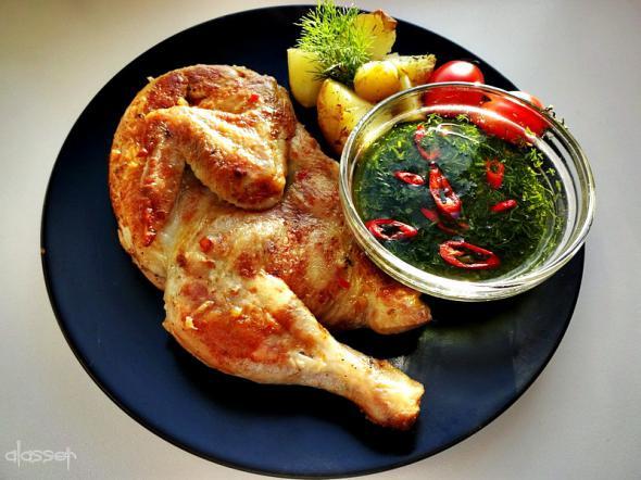 Цыпленок Табака (Тапака).