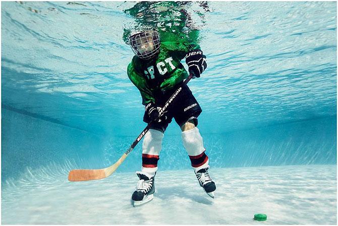 Как бы выглядел спорт под водой
