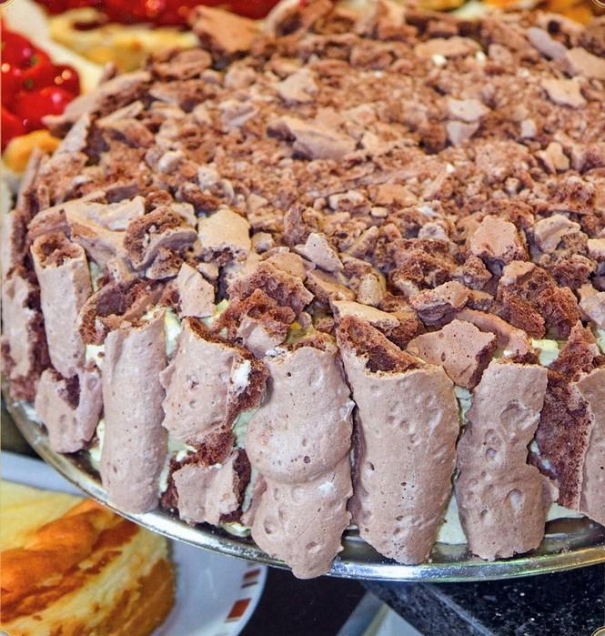Торт Мокко-крем с безе (Baiser-Moccacreme)