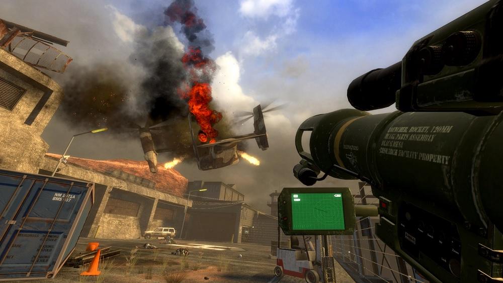 Ремейк легендарной Half-Life появился в Steam