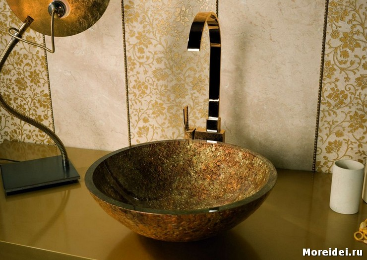 раковины в ванную комнату накладные