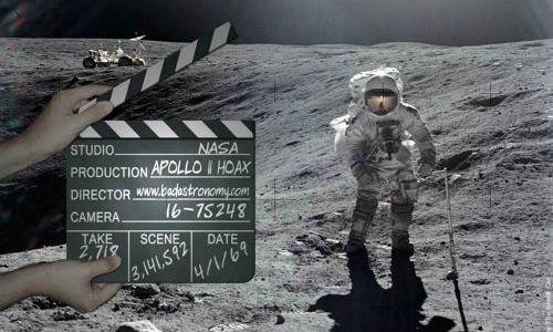 Американские ученые : никто не летал на Луну!