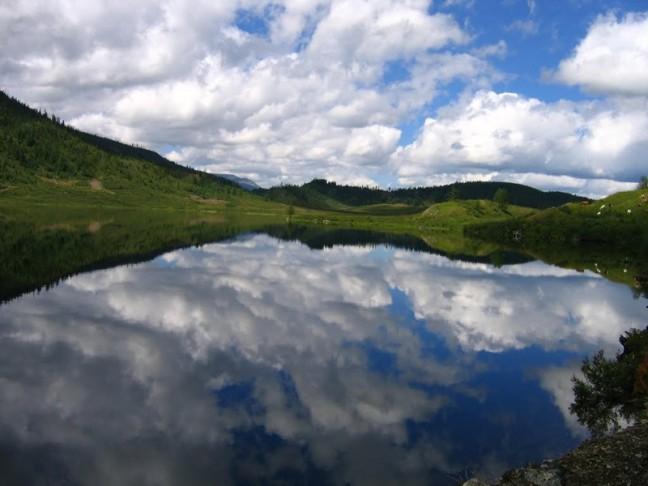 Дурная слава Пустого озера Алтая загадка, озеро, природа