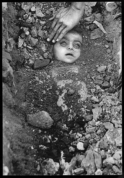 Захоронение неизвестного ребенка. 3 декабря 1984 г