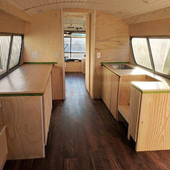 """""""Да и это не была работа над домом, стоящим на одном месте"""" автобус, дизайн, дом, идея, проект, сделай сам, фото"""