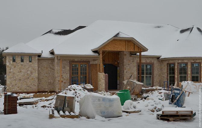 Как строят дома в центральных штатах США?