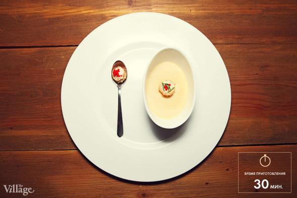 Рецепты шефов: Чаван-муши с икрой и молоками.
