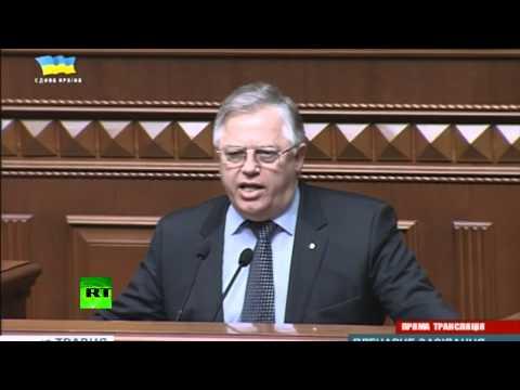 Депутату не дали рассказать об убийствах в Мариуполе.