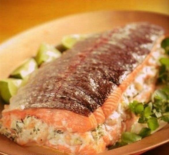 Фаршированный лосось (586x539, 223Kb)