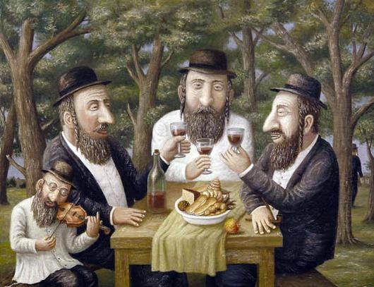 Анекдот понедельника : Неунывающие евреи