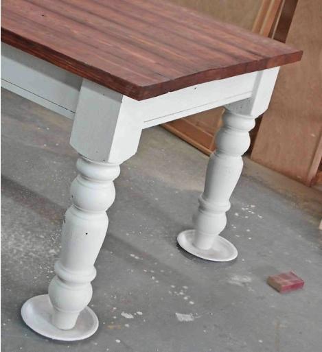 Как сделать стол в винтажном стиле своими руками
