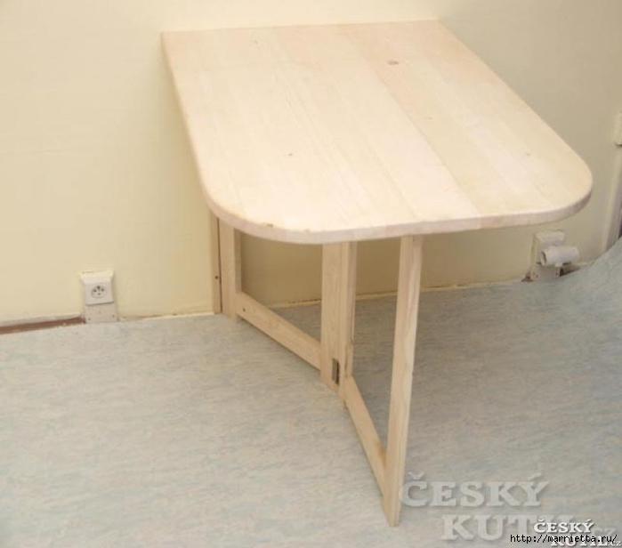 Как сделать откидной столик своими руками фото